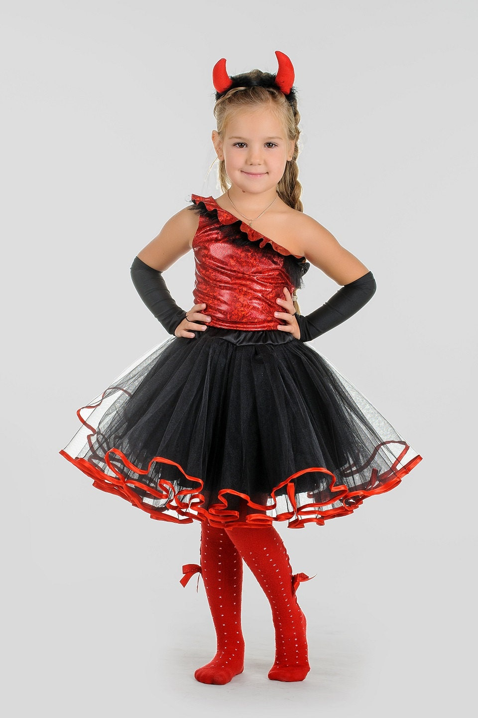 424Костюм на хэллоуин для девочки 7 лет