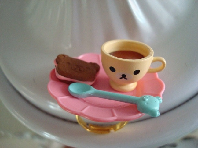 Teddy Bear Tea Party Ring