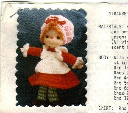 www.craftcottage.biz: Strawberry Shortcake Dolls to Crochet