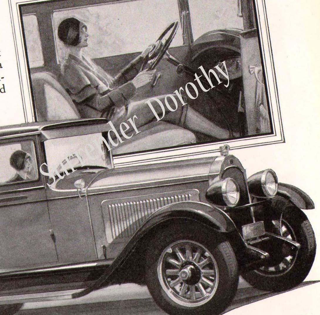 1928 Willys Knight Six 4 Door