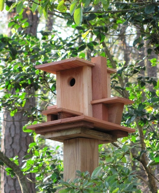 frank lloyd wright birdhouse