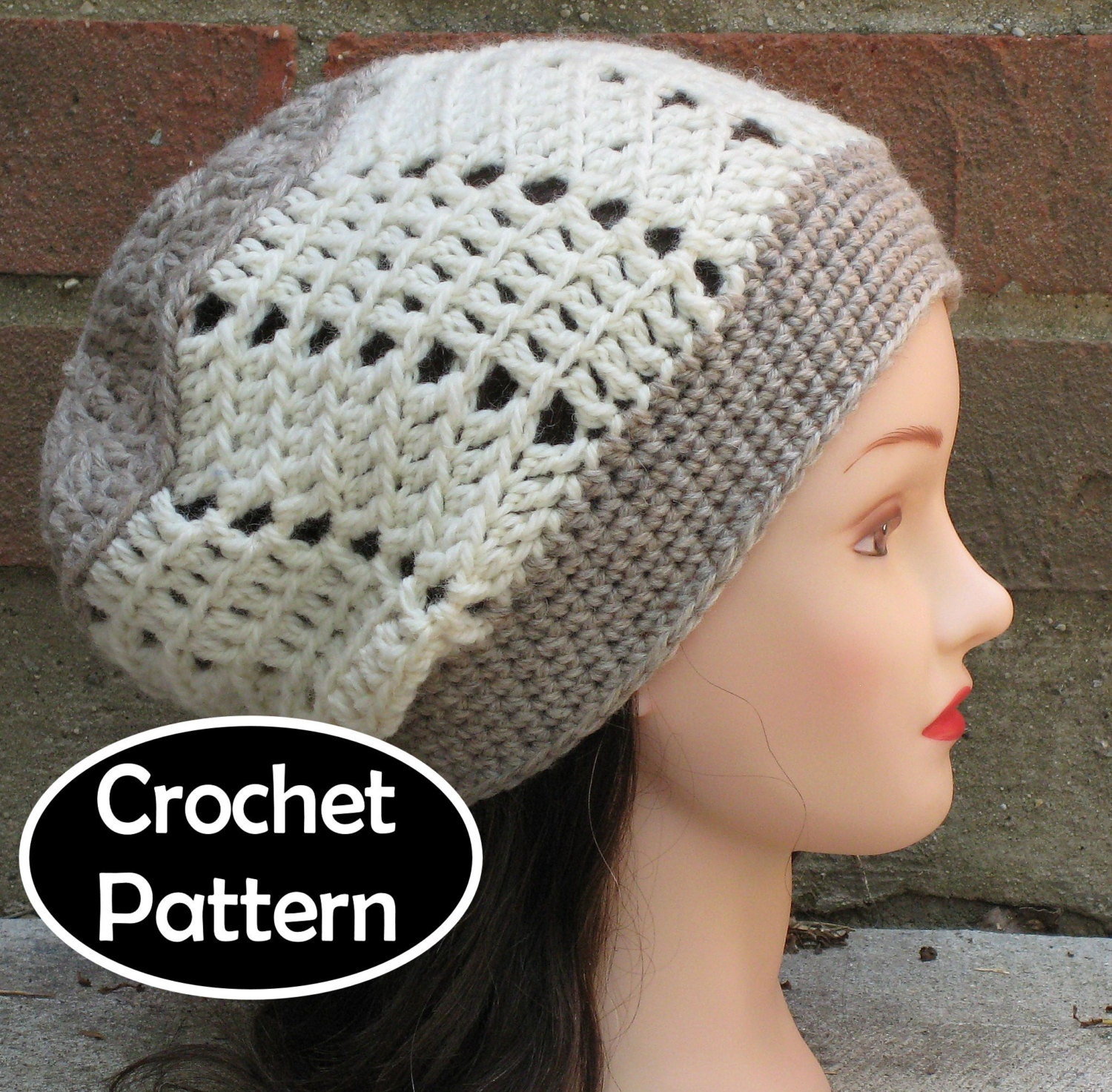 Crochet Hat Pattern Download : CROCHET HAT PATTERN Pdf Instant Download Naomi by AlyseCrochet
