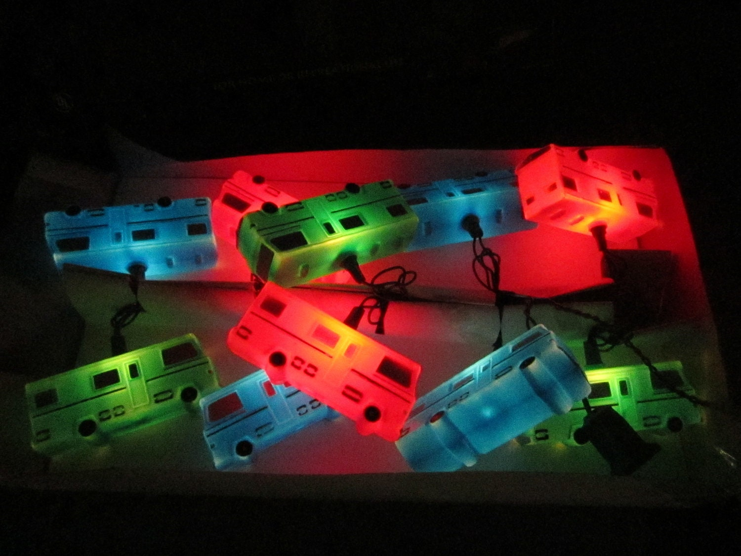 FREE SHIP Vintage Noma Camper Party Lights by DiverseCollectibles