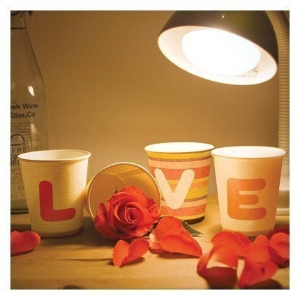 For Special Day Party Paper Cup 30pcs