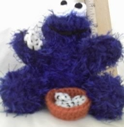 Amigurumi Cookie Monster Pattern : Items similar to Crochet Pattern Cookie Monster Amigurumi ...