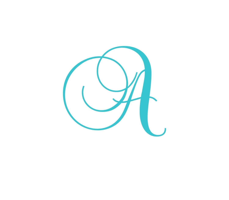 Letter n in cursive