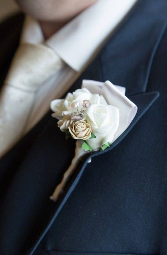 Rustic buttonhole Gents buttonhole buttoneire wedding buttonhole groom flowers artificial flowers groom candy suit accessories