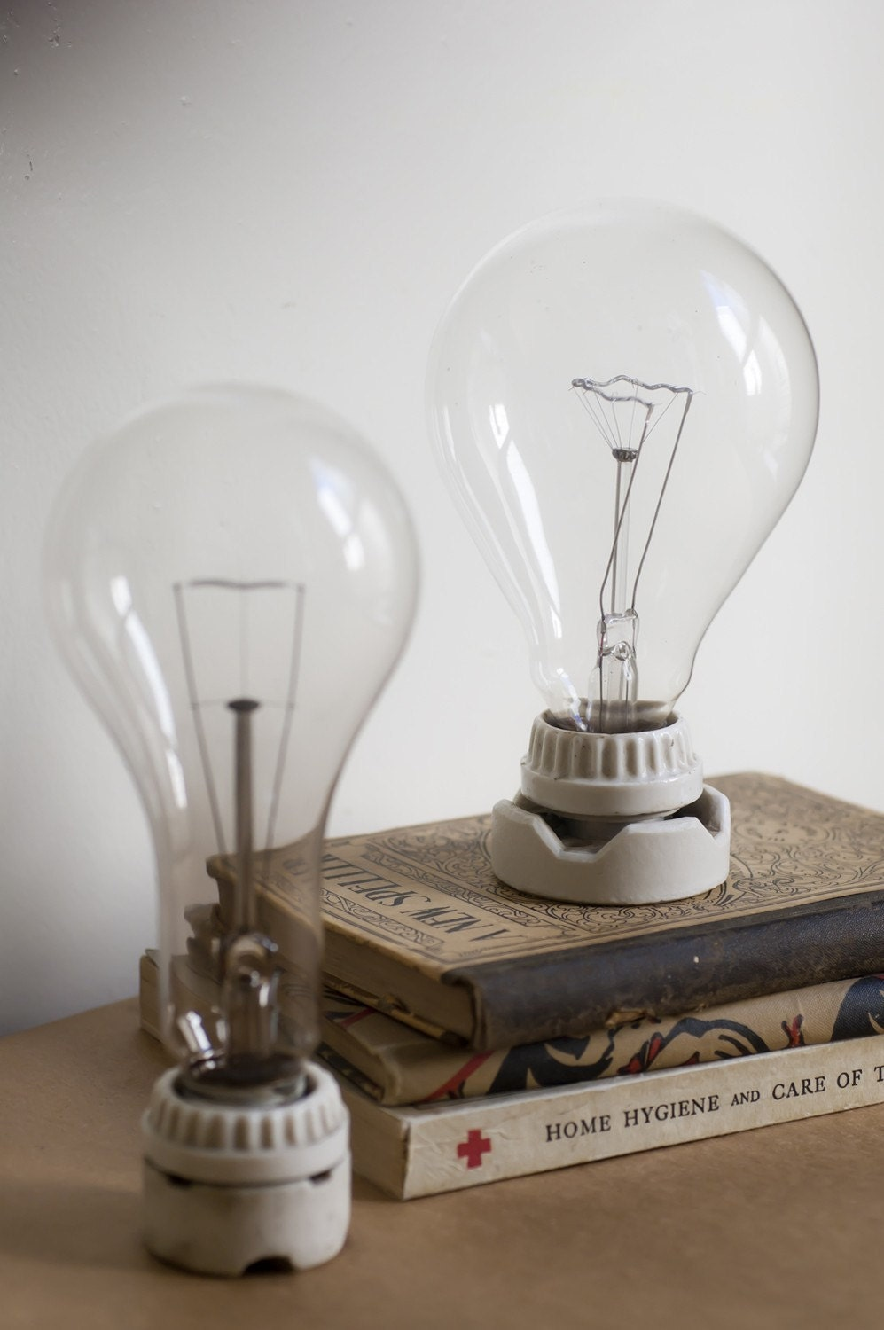 caulfield collection. vintage light bulb