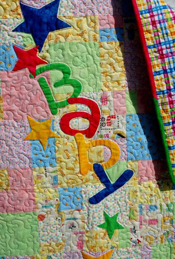 Star Baby Crib Quilt