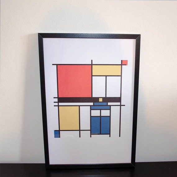 mondrian who piet mondrian doctor who inspired by perdita00. Black Bedroom Furniture Sets. Home Design Ideas