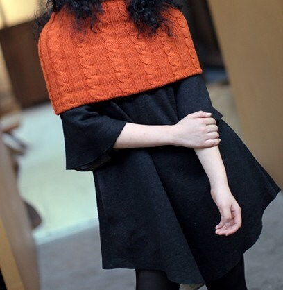 Wool collar black woolen blend coat Christmas Promotion price Limited time