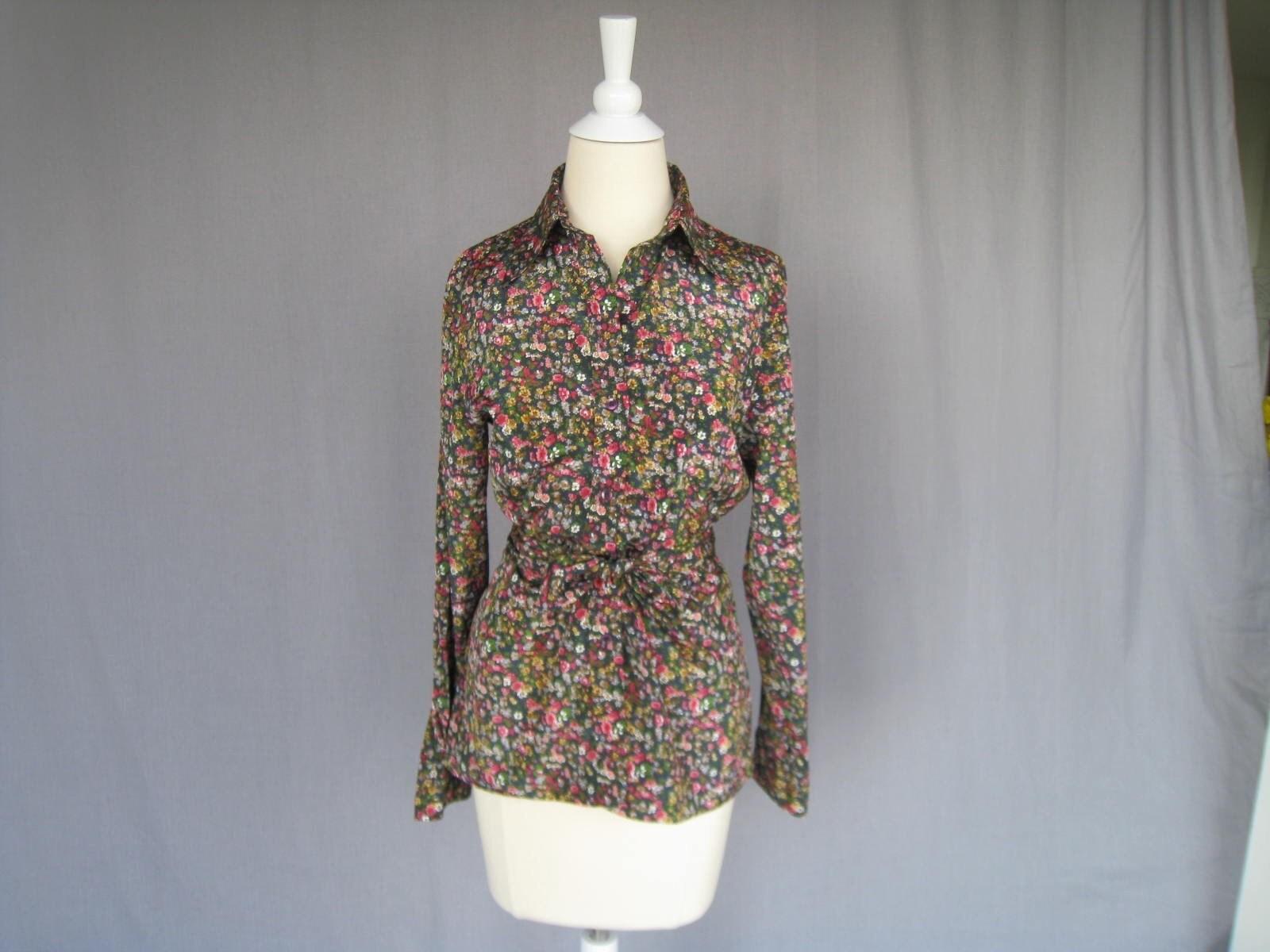vintage LIBERTY PRINT long sleeved blouse