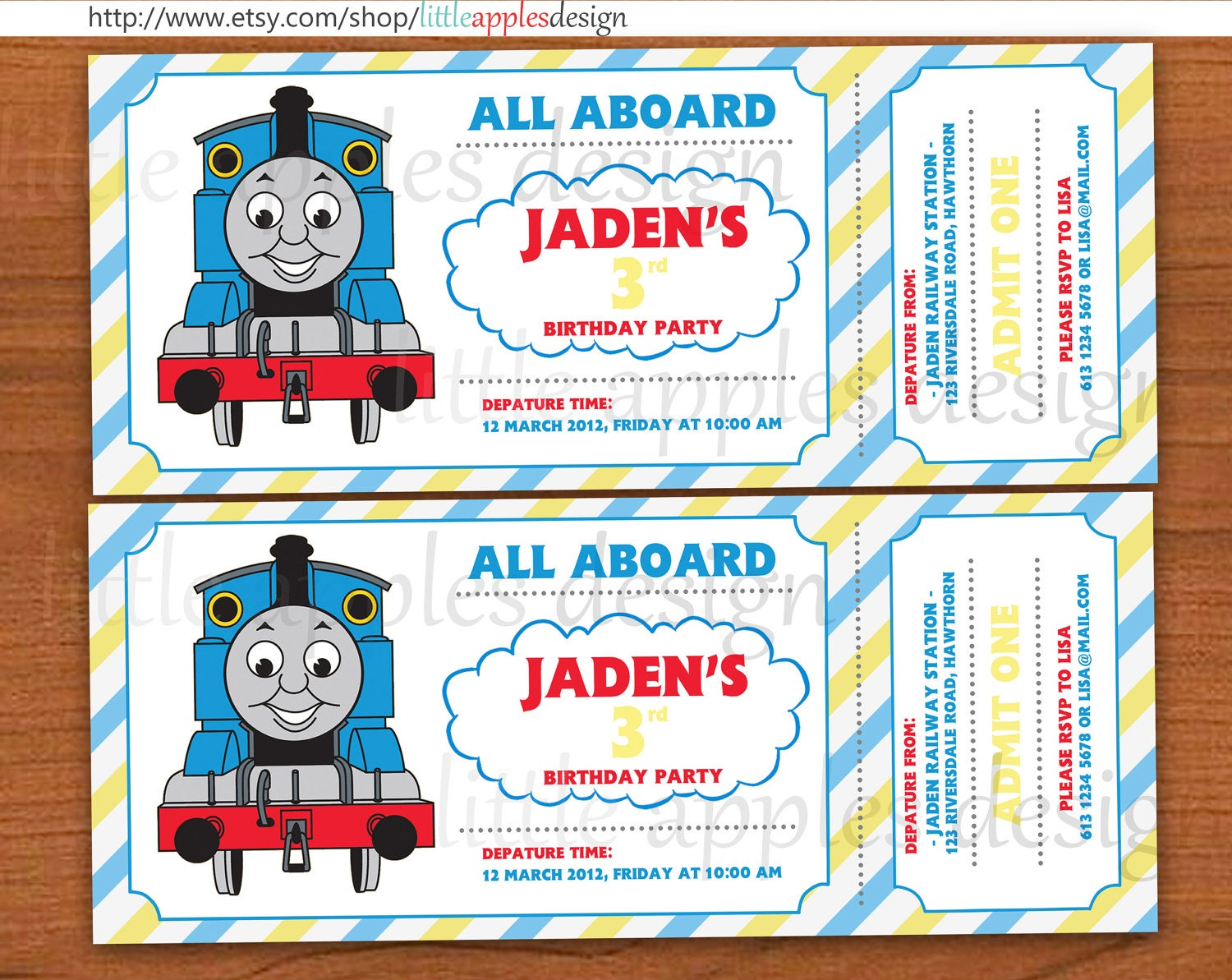 40th Birthday Ideas Free Thomas And Friends Birthday Invitation