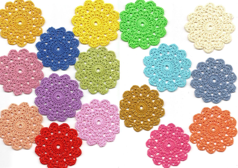 گل قلاب دوزی نوعی پارچه ابریشمی گل - doilies رنگارنگ، مجموعه ای از 16 بهار مجموعه، موتیف، نقاشی رنگ و روغن روی ظرف فلزی، toppers کارت، دکوراسیون کیف، مجموعه عکسها وقطعاتی که از کتب مختلف بریده شده، دوختن