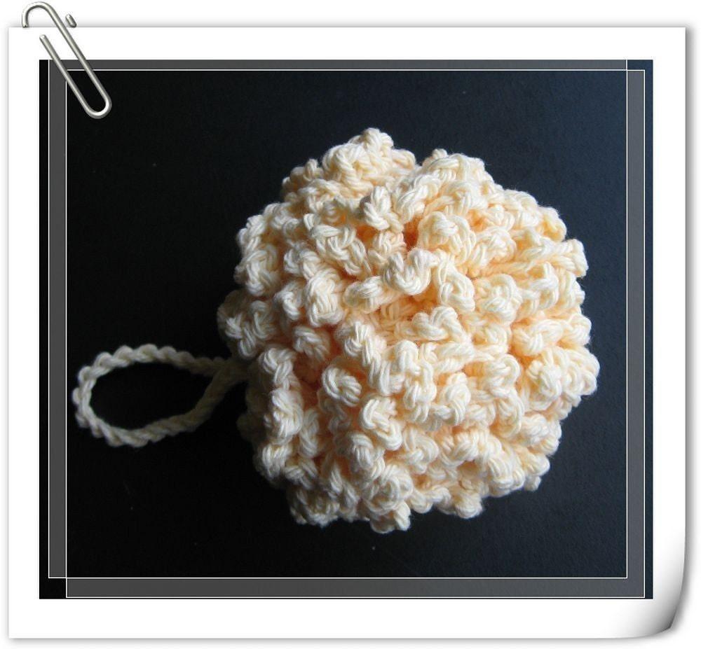 Free Crochet Pattern For Bath Pouf : Pattern crochet bath/shower puff Cluster Free by LilyKnitting
