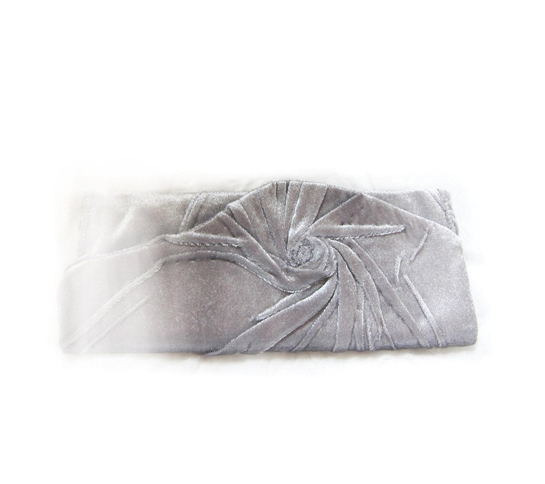 Silver Gray Clutch Bag Elegant and Retro.. Aristocratic  Clutch Bag .Bridal clutch... Unique