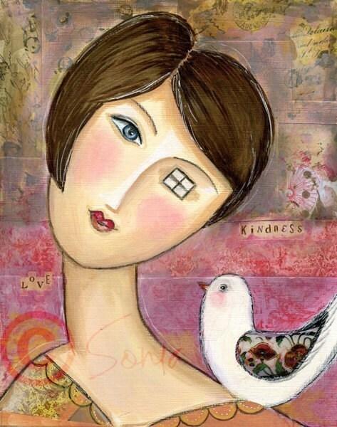 Kindness -  8x10 Fine Art Print