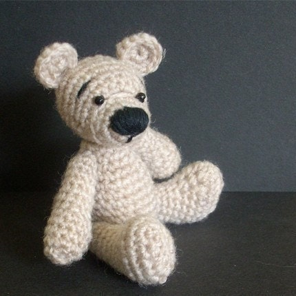 Crochet Teddy Bear : Amigurumi Bear Crochet Pattern, Crochet Bear Pattern, Teddy Bear
