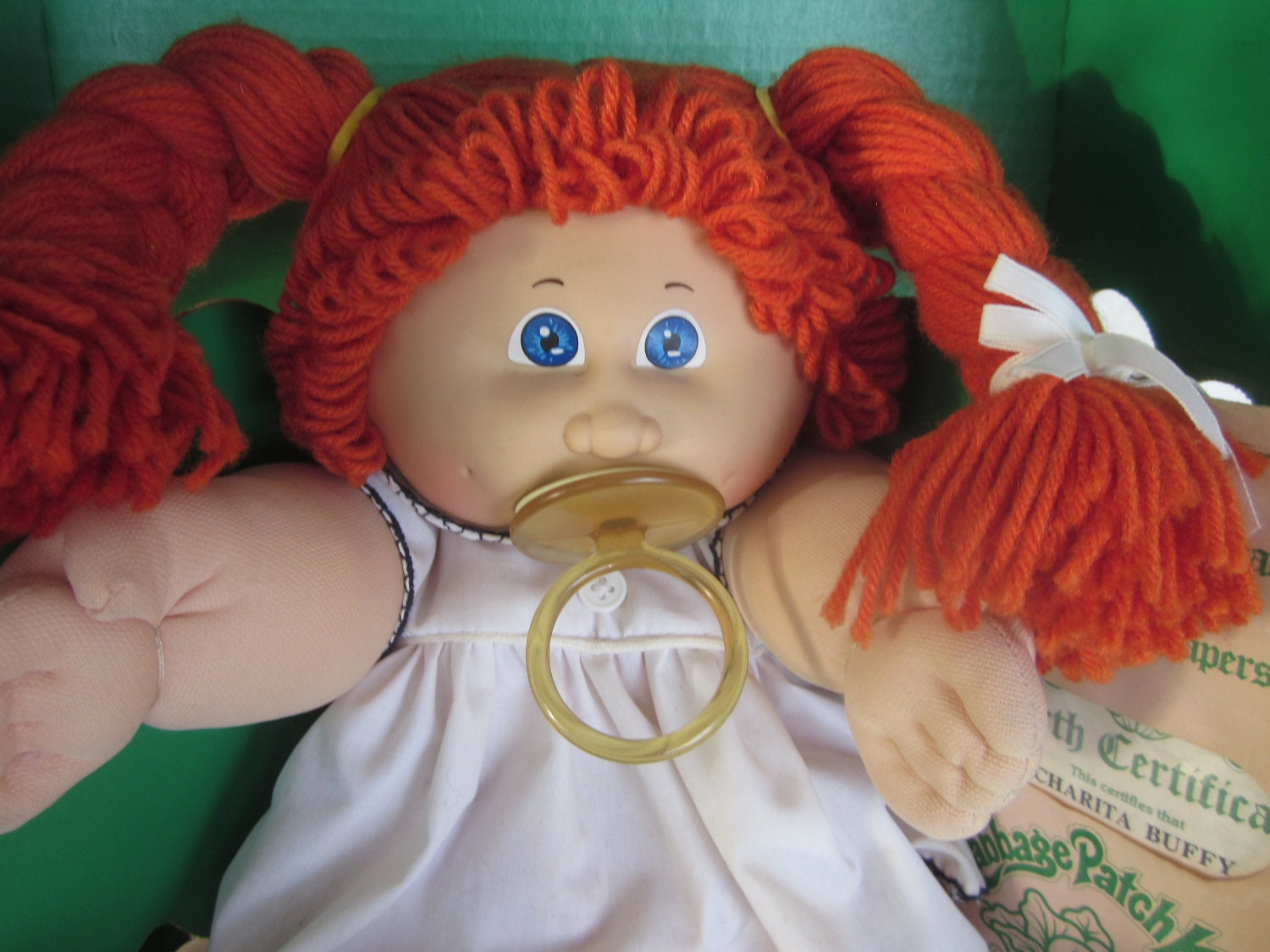 Vintage 1984 Cabbage Patch Kids Doll Charita Buffy By
