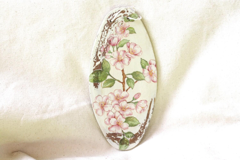Http Www Etsy Com Listing 121892922 Pink Cherry Blossom Decoupage Home Decor