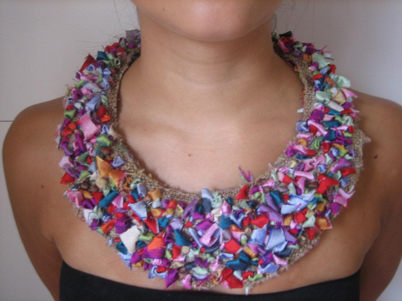 Rag Rug Necklace
