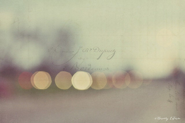 lights, bokeh, blur, abstract, dreamy, fine art photography - BeverlyLeFevre