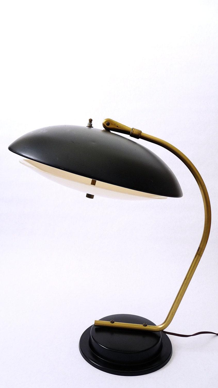 mid century modern lightolier desk lamp by by modernspecific. Black Bedroom Furniture Sets. Home Design Ideas