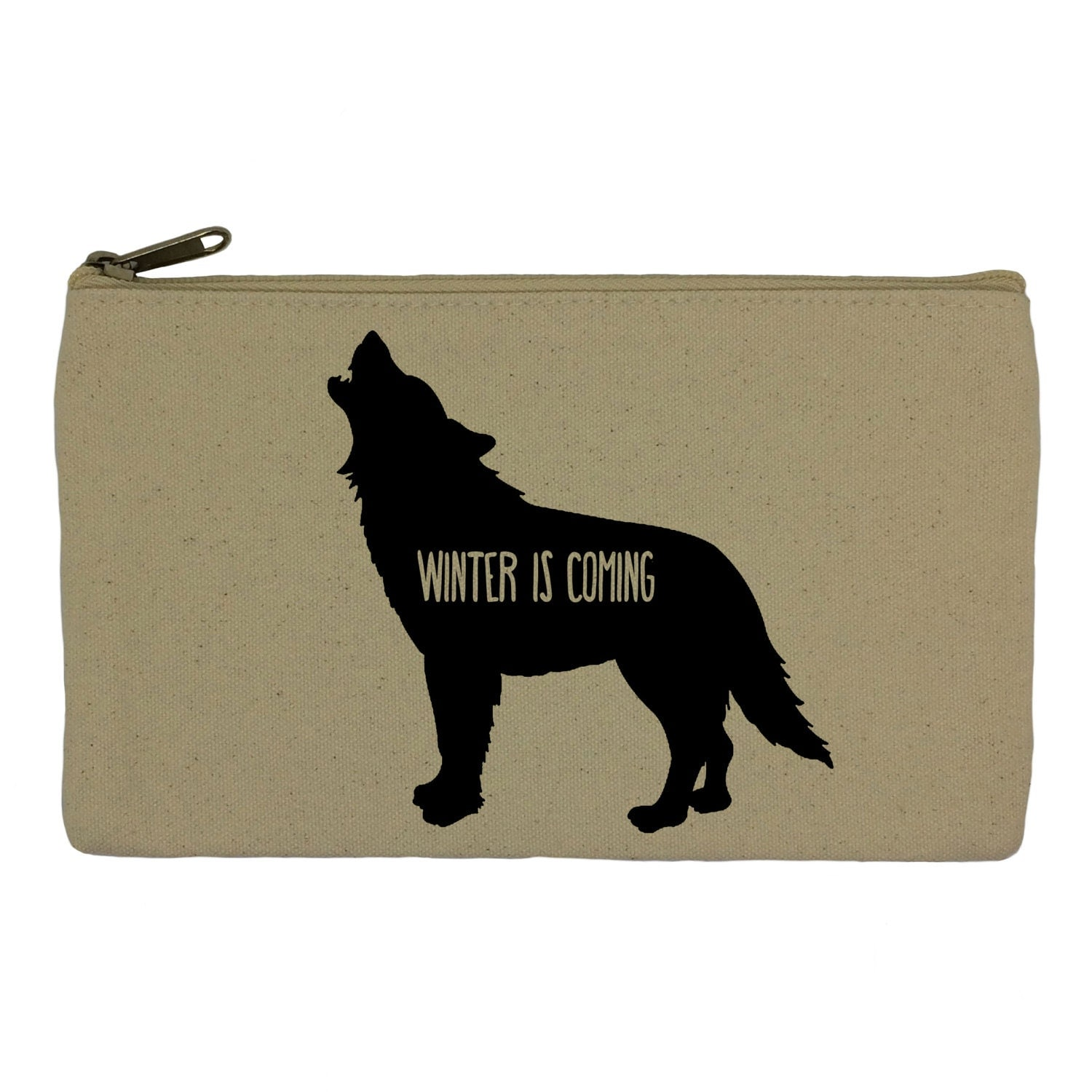 Pencil case stationary winter is coming game of thrones pencil pouch canvas bag pencil holder make up bag school supplies