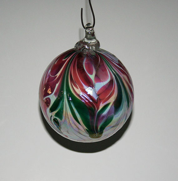 Best white glass christmas ornaments hand blown