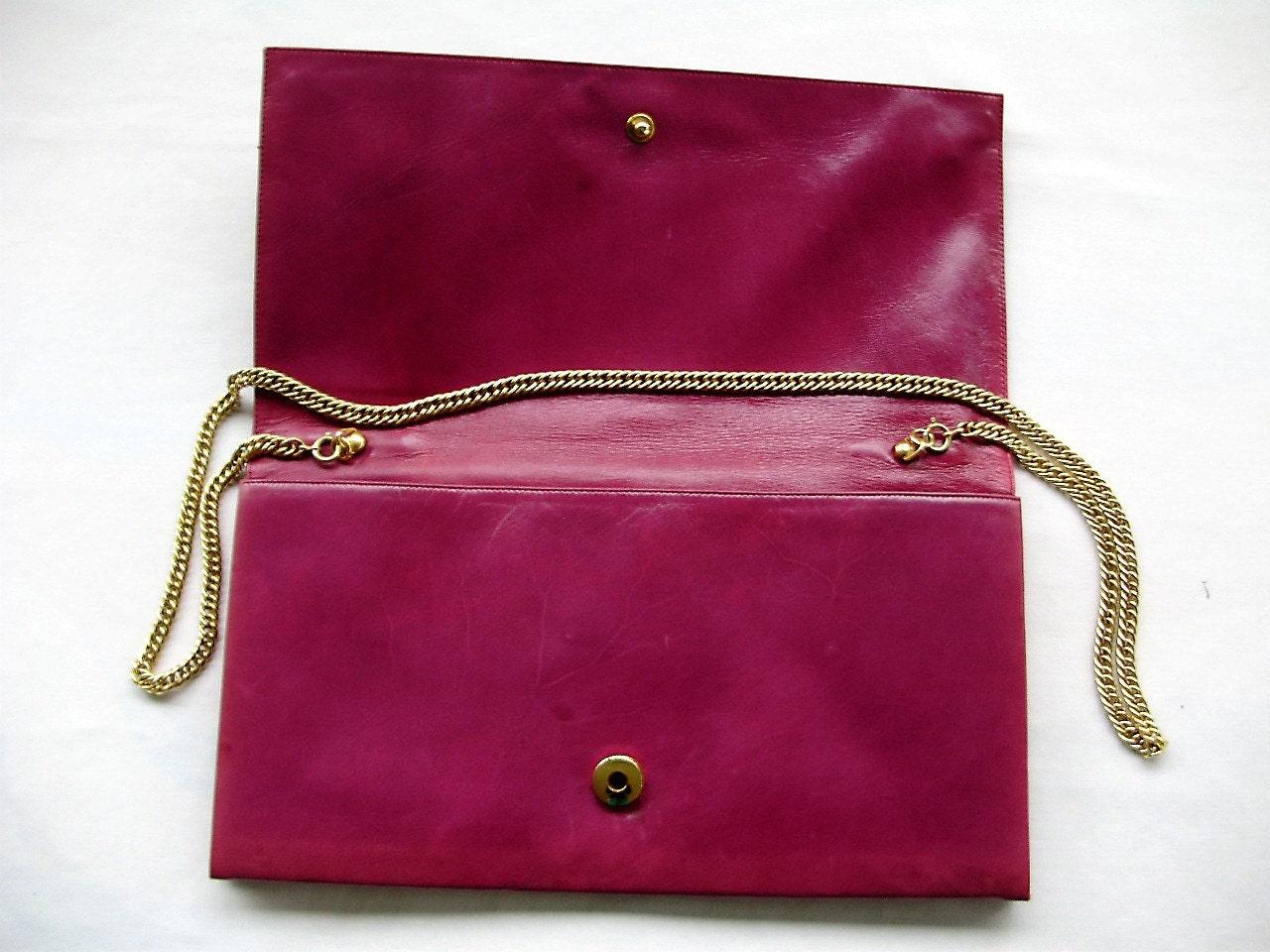 Sale Purple Rose Gino Aldrovandi Handbag Purse 70s