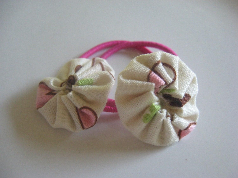 Yo-yo Hair Ties (Neapolitan)