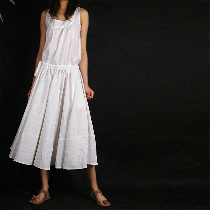 LESS IS MORE sleeveless long dress