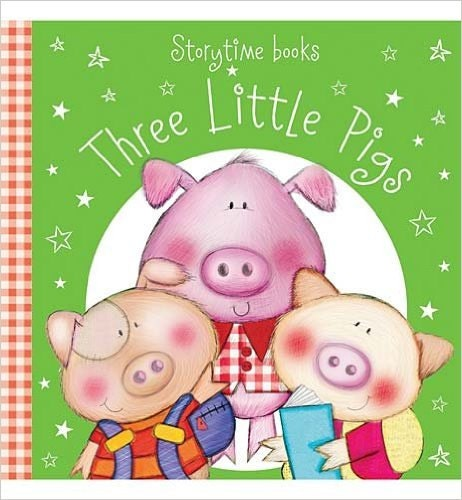 three little pigs crochet story sack