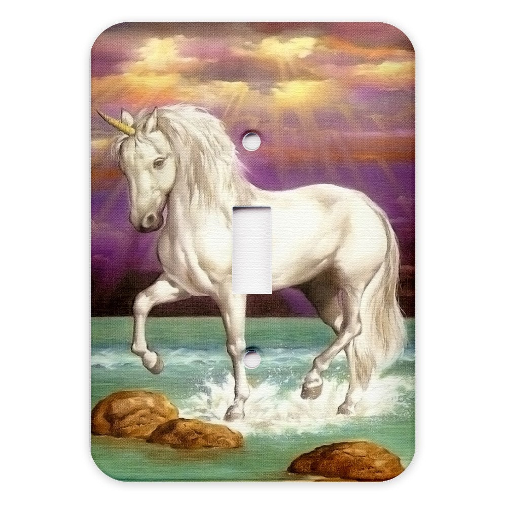 Magical Unicorn Light Switch Plate Cover
