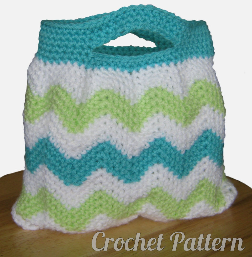Free Crochet Chevron Purse Pattern : Unavailable Listing on Etsy