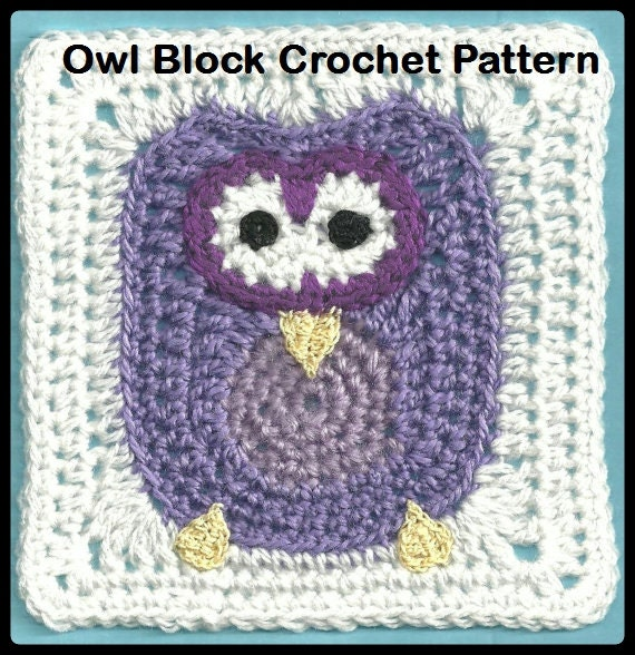Free Crochet Pattern Owl Afghan : Unavailable Listing on Etsy