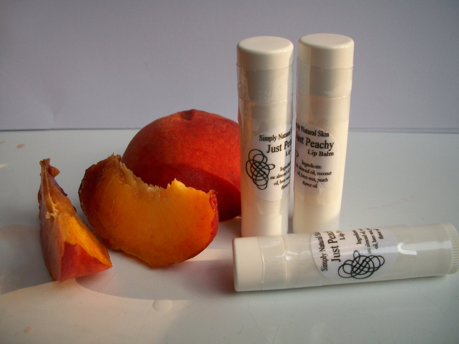 Just Peachy - Lip Balm - Three tubes