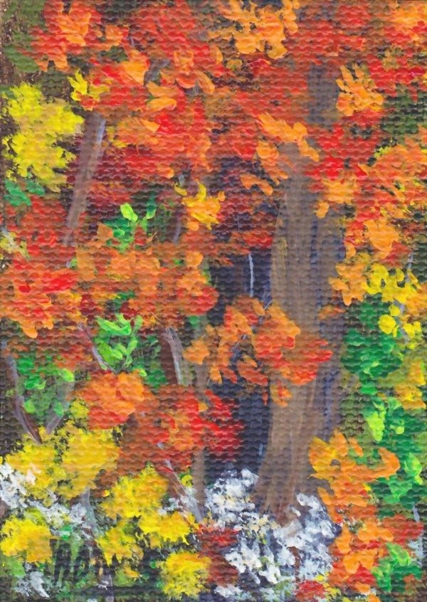 Leaves Painting Acrylic Painting Fall Leaves