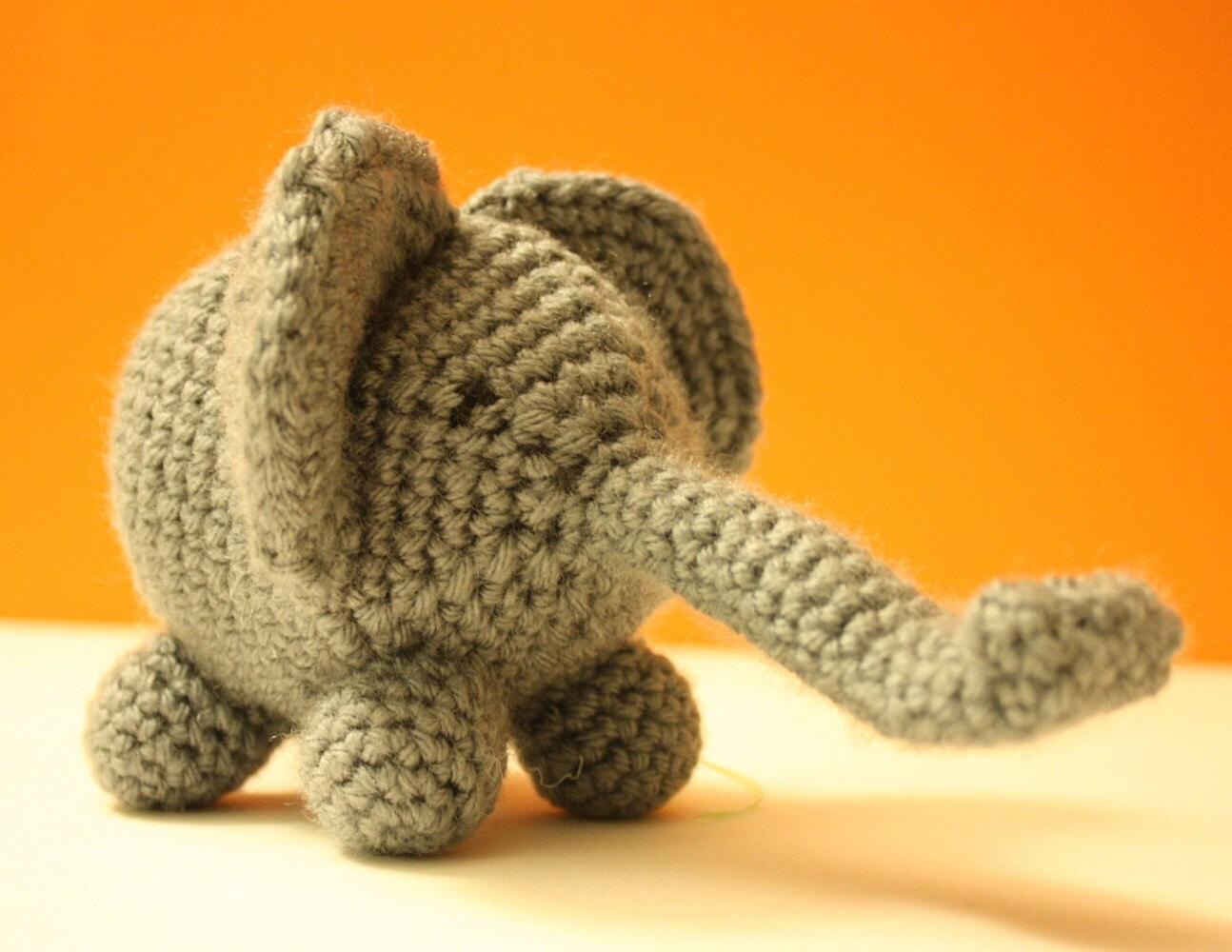 Otis - Baby Amigurumi Elephant