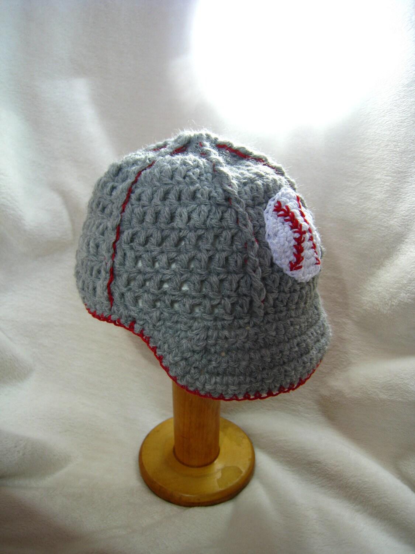 Free Crochet Pattern Baby Baseball Cap : Popular items for baseball brim on Etsy