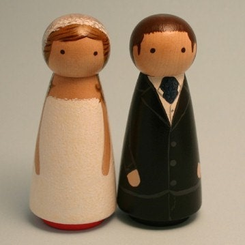 Custom UnNaked Couple - Peggies - FULLY customizable - without Pedestal