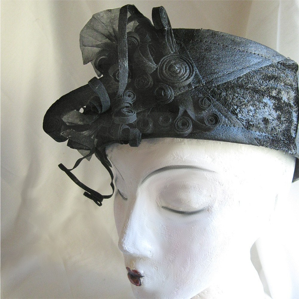 Black on Black Headdress