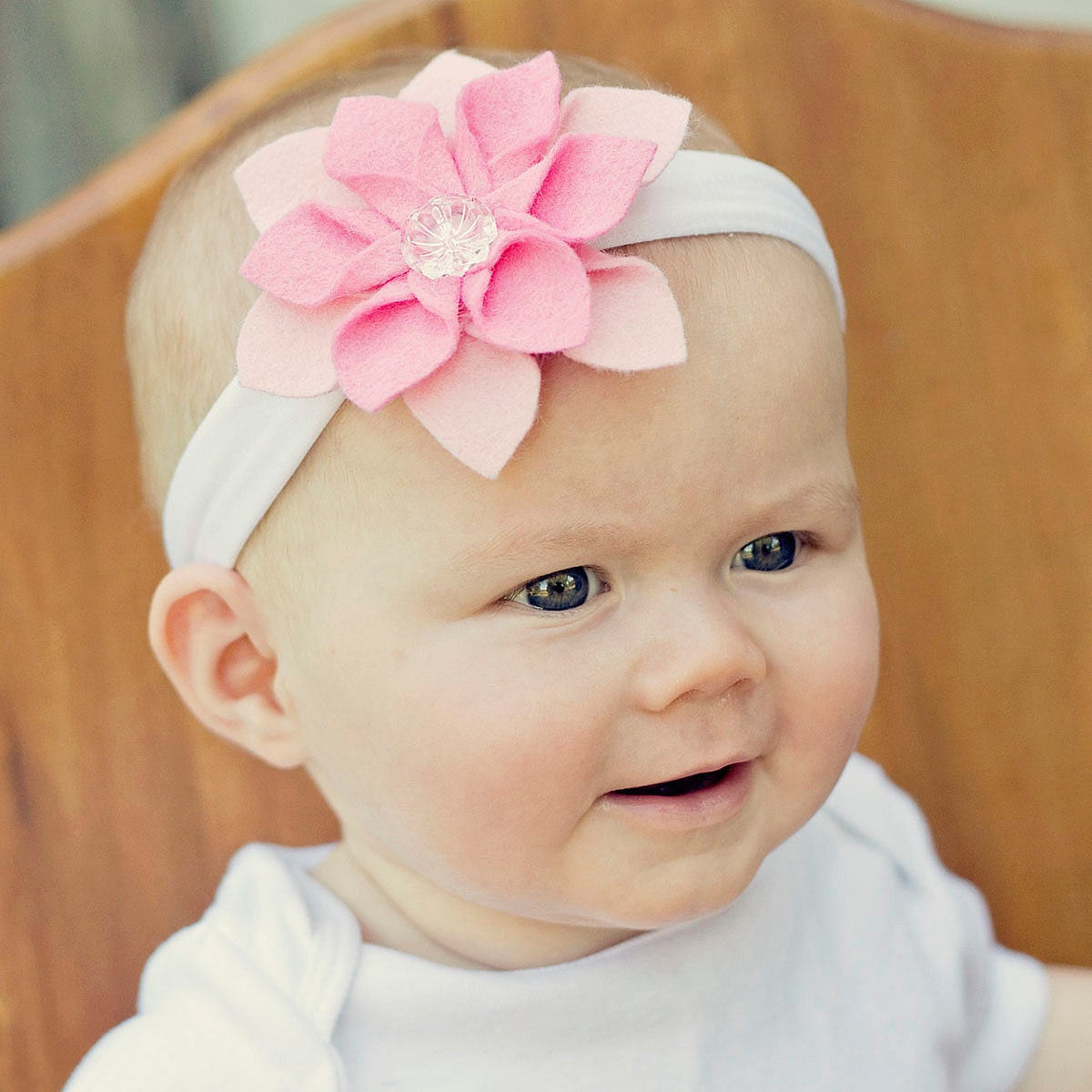 Baby Glam Felt Flower Headband - Baby-Toddler