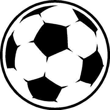 Soccer Ball - vinyl car decal Choose