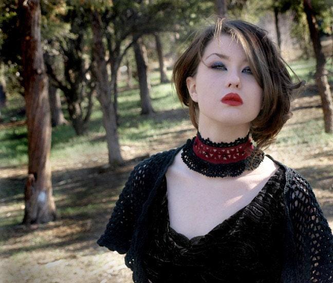 Duchess Noir Gothic Choker