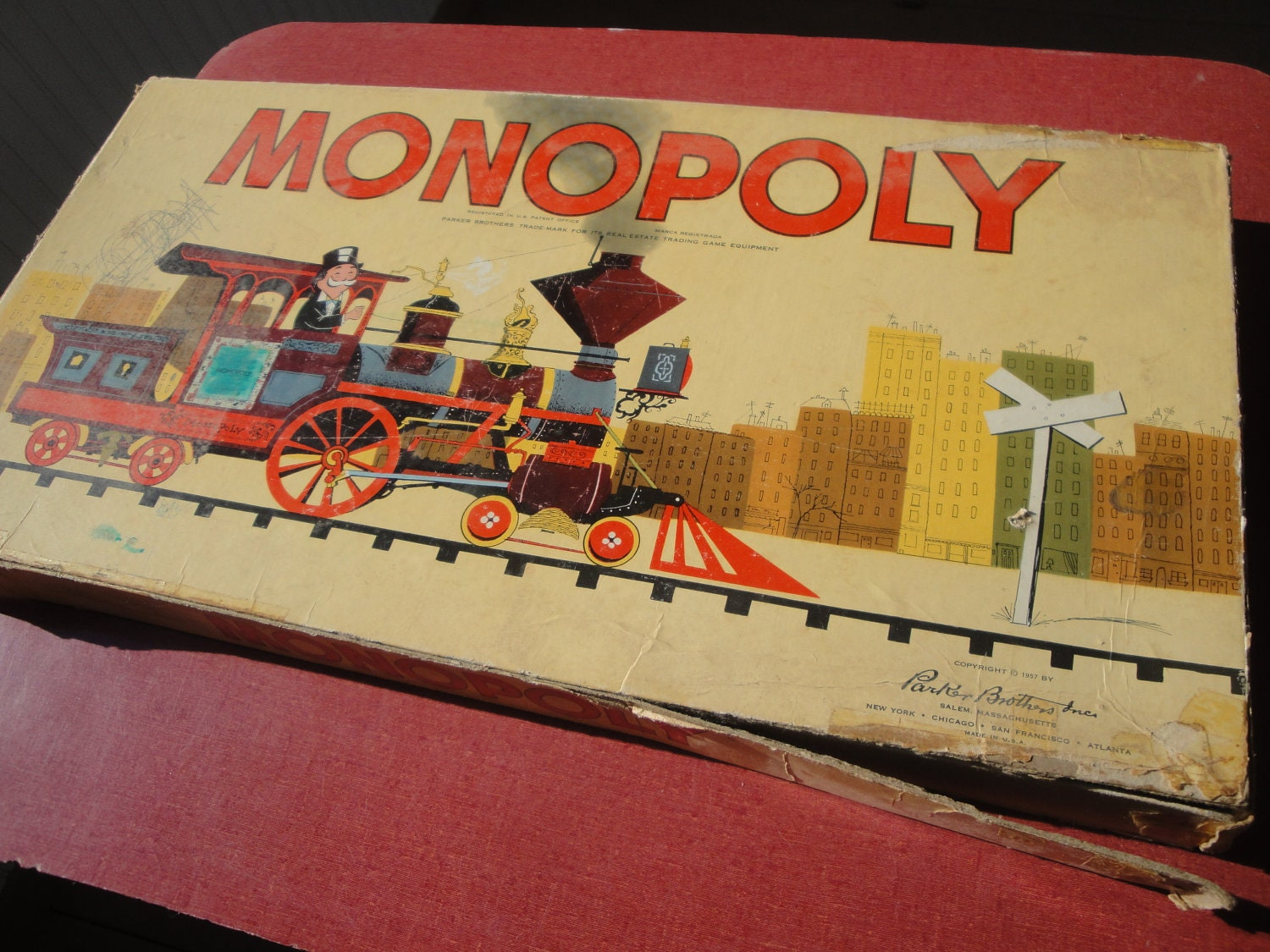 Vintage Monopoly Games For Sale