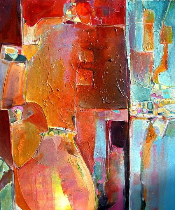 741b1be014186 Artistic Endeavors: Livefunky's Favorite Abstract Painters - Etsy ...