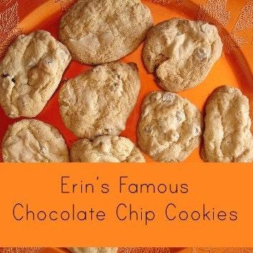 Erin's Famous Chocolate Chip Cookies 3 Dozen