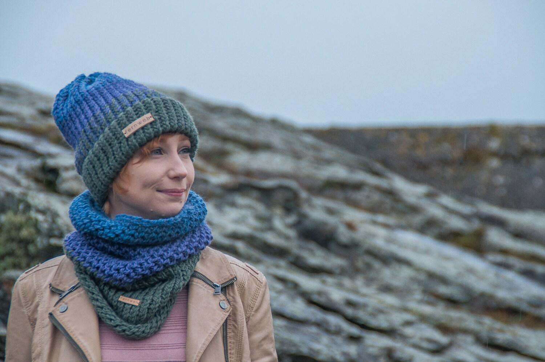 Fernweh UK STRATH hand knit Alpaca Merino Chunky Knit Hat Unisex hat beanie hat chunky hat winter beanie hat scottish knit hat