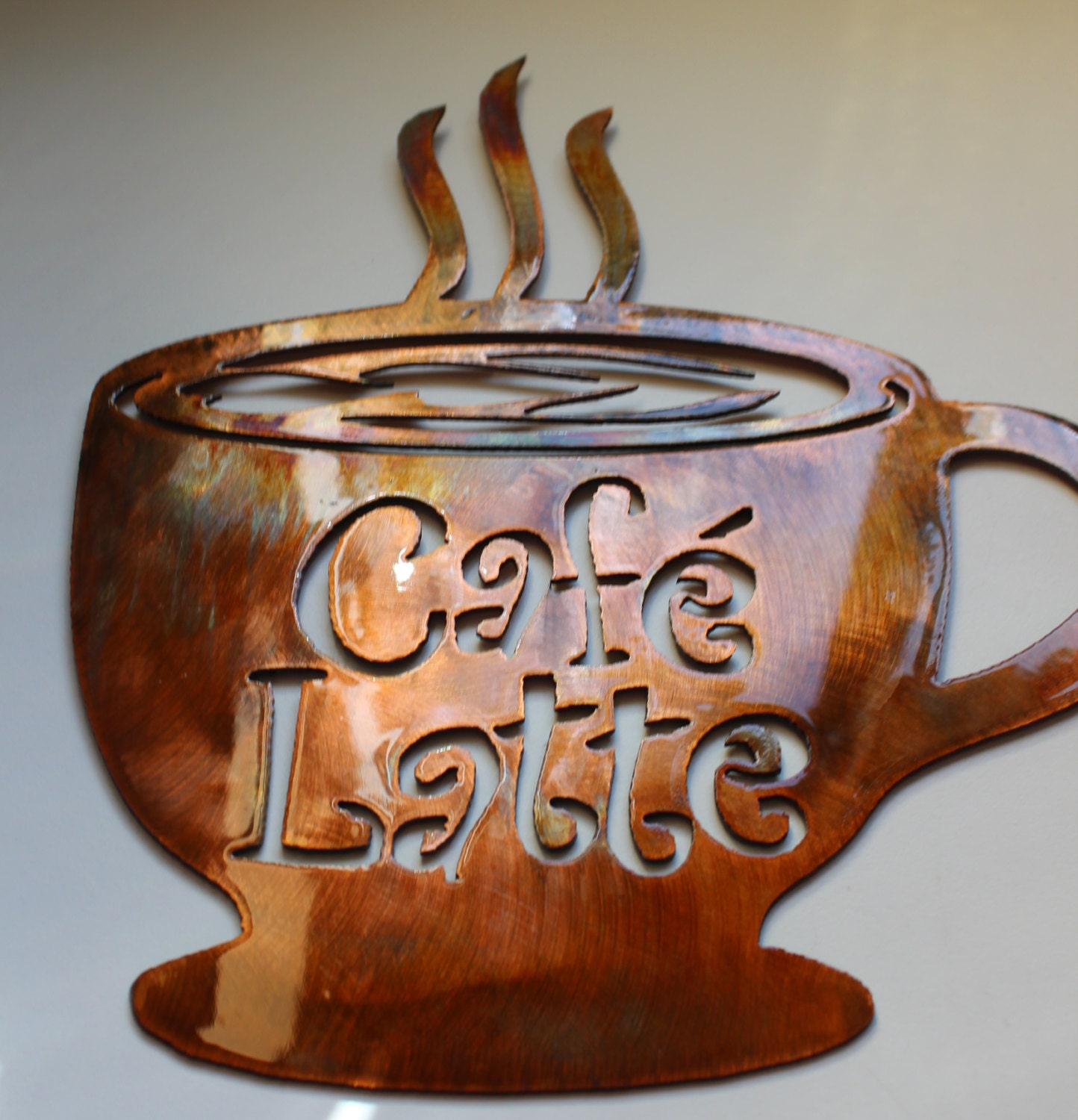 Unavailable listing on etsy for Cafe latte decor